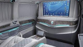 ЗАБУДЬТЕ ПРО МАЙБАХ: самый роскошный Mercedes-Benz V-Class VIP за 16 млн (!) от А1 Авто