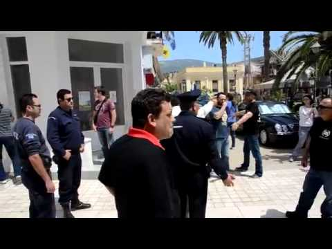 Intensity between golden dawn members and workers of PA.ME