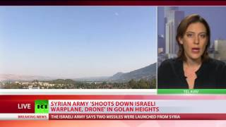 Syrian Army claims it shot down Israeli warplane & drone in own airspace sfter attack, IDF denies