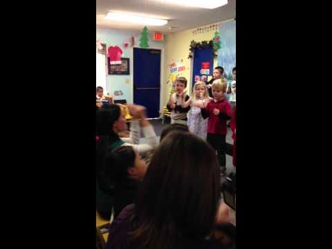Leo Singing Carmel Mountain Preschool 1