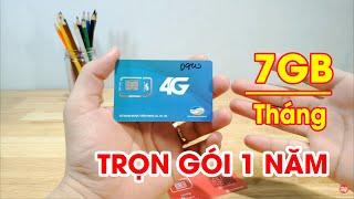 Review SIM 4G D900 Viettel trọn gói 1 năm không cần nạp tiền với 7GB/tháng