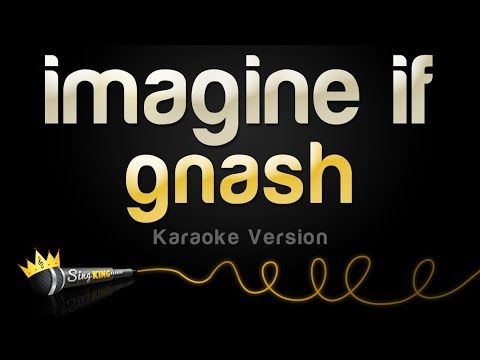 gnash - imagine if (Karaoke Version)