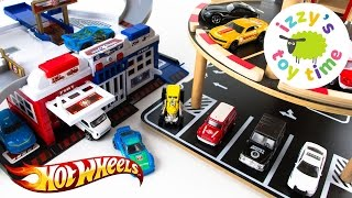 Cars for Kids | Hot Wheels and Fast Lane Parking Garage Madness | Fun Toy Cars for Kids