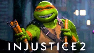 INJUSTICE 2 - Fighter Pack 3 TRAILER!!! New Cinematic trailer TMNT