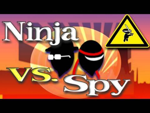 Ninja vs Spy (Looney Tunes Style Humor)