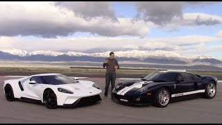 2017 Ford GT vs. 2005 Ford GT: First Comparison Test!