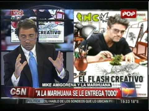 C5N - EDUARDO FEINMANN HABLA DE LA POLEMICA TAPA DE MIKE AMIGORENA