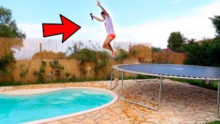 TRAMPOLINO vs PISCINA
