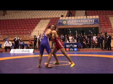 AWFCUP / Tehran Aminzade (AZE) - Hamidreza Badkan (İRİ) GR cadets 85 kg final