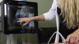 How ultrasound was used to find and treat an old, nagging injury in a hockey player.