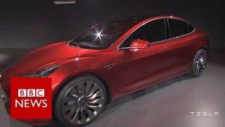 Tesla reveals 'affordable' Model 3 electric car - BBC News