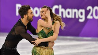 French Figure Skater Finishes Despite Wardrobe Malfunction