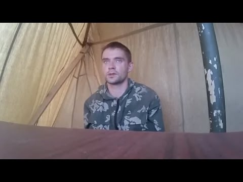 Interrogation Of Captured Russian Paratrooper Gheneralov Donetsk Oblast Ukraine, August 26 2014