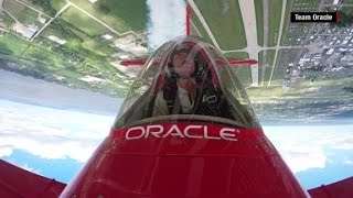 Flying without fear: Aerobatic pilot is one of the best