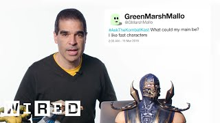 Mortal Kombat Co-Creator Answers MK 11 Questions From Twitter | Tech Support | WIRED