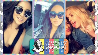 SHAY MITCHELL August 2015 Snapchat Story | feat. Ashley Benson, Sasha Pieterse