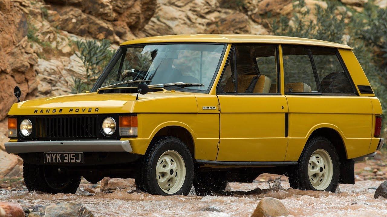Land Rover Range Rover 1970 Youtube