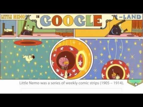 Google Doodle for Winsor McCay! Best Google Doodle!