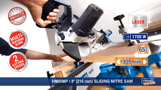 scheppach special edition HM80MP sliding mitre saw