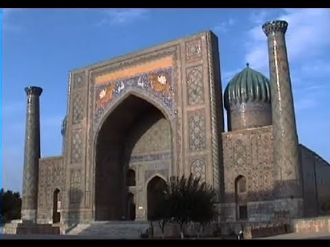 The silk road city of Samarkand