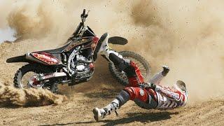 Tombos Incríveis Com Motos & Quedas De Motocross
