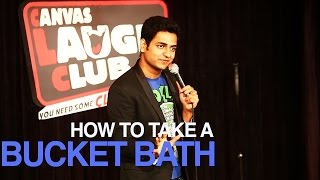 TAKING A BUCKET BATH IN INDIA : STAND UP COMEDY - Kenny Sebastian