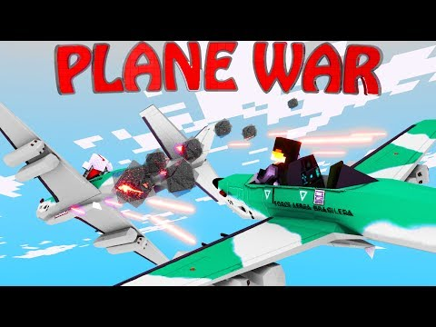 Minecraft Mods | PLANE WARS - The Modded Games ep 6! (Plane Mod)