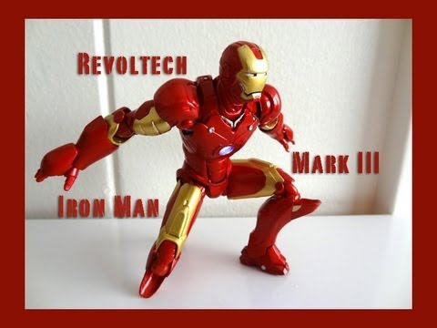 Kaiyodo Revoltech Iron Man Mark 3