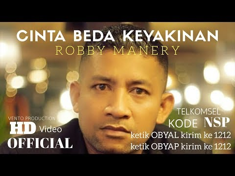 CINTA BEDA KEYAKINAN - ROBBY MANERY ( OFFICIAL MUSIC VIDEO ) #VENTOPRODUCTION