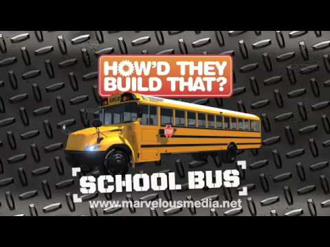 How'd They Build That? School Bus DVD Video