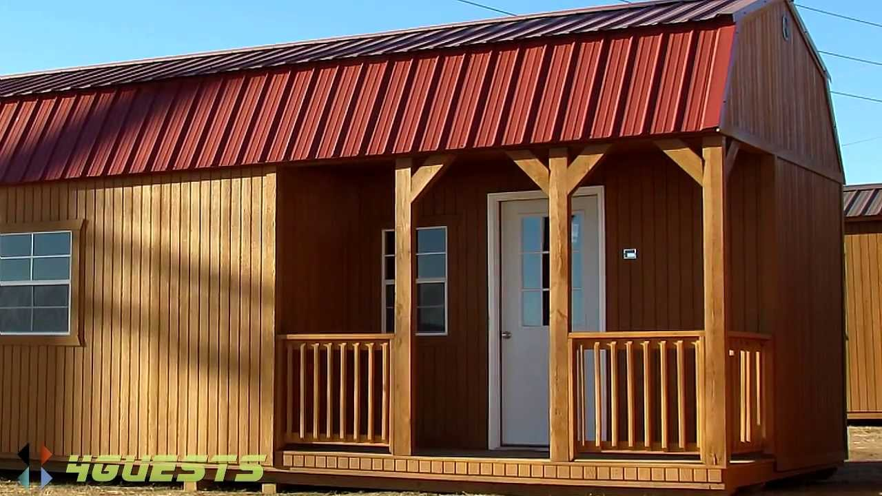 Tiny Homes Portable Buildings by Graceland YouTube