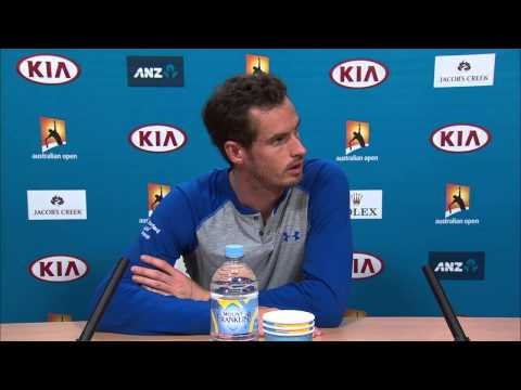 Andy Murray press conference - Australian Open 2015