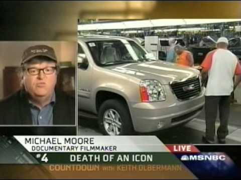 Michael Moore on GM Bankruptcy: We Own a Car Company