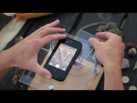 Trasformare lo smartphone in un microscopio