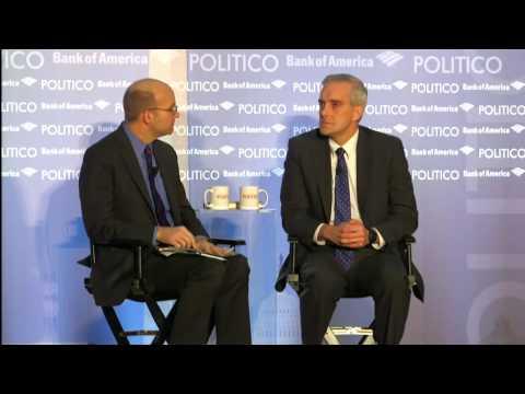 Denis McDonough on Hillary Clinton: 'She'd be a very good president'