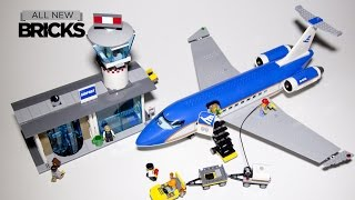 Lego City 60104 Airport Passenger Terminal Speed Build