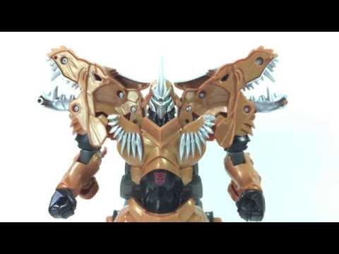 Transformers Age Of Extinction GRIMLOCK Flip & Change Review