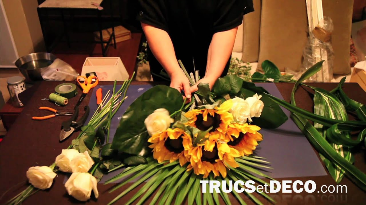 ... ou une composition florale ? - Tutoriel par trucsetdeco.com - YouTube