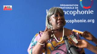 Ndioro NDIAYE, présidente du Réseau des Francophone Egalité Femme-Homme