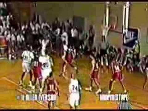 Allen Iverson 1993 Nike Camp College Crossover Highlight