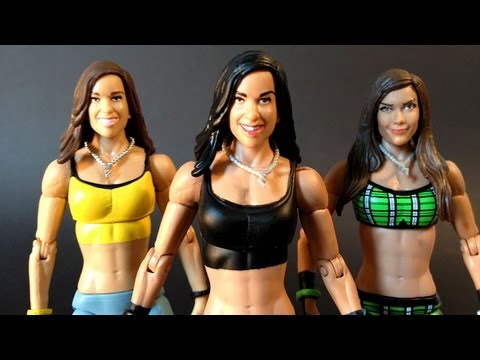 WWE Basic Series 30 AJ LEE Action Figure Review