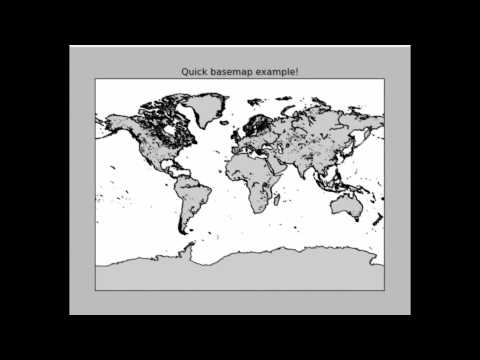 Geographical Plotting with Python Part 2 - Some customization