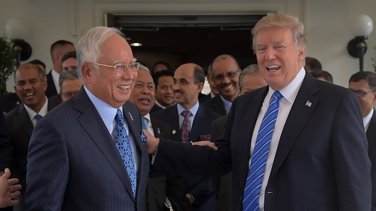 Trump, Najib talk about trade and security