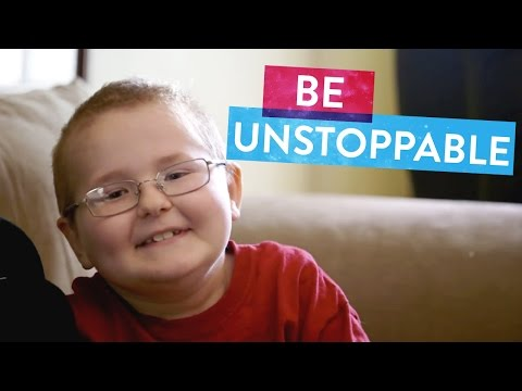 Tyler is Eight Years Old with Cancer, But Keeps On Fighting | Unstoppable