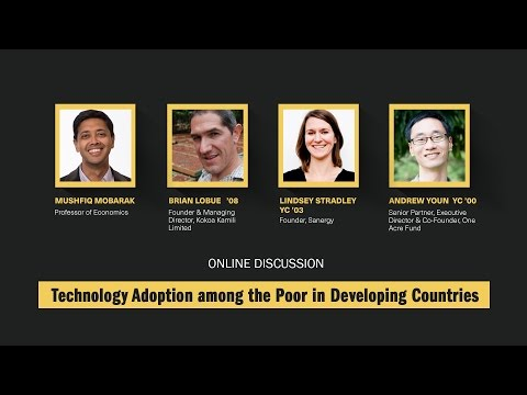 Technology Adoption among the Poor in Developing Countries
