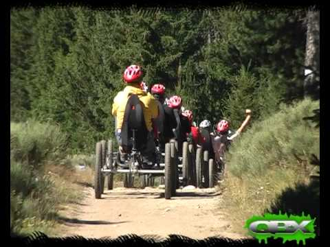 FOUR WHEEL BICYCLE - QUADBIKE QBX SUMMER TREK