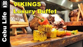 Vlog # 6.5 - Vikings luxury buffet Cebu - best buffet in Cebu