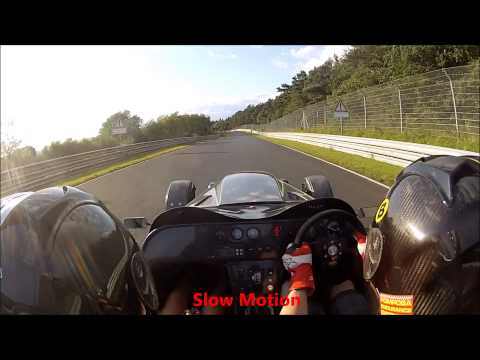 Nurburgring 11.08.14 - Porsche try to kill us on MegaBusa