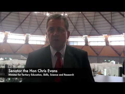 2012 WSA National Competition - Senator the Hon Chris Evans