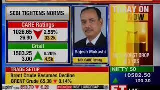 Mr  Rajesh Mokashi, MD & CEO, CARE Ratings Ltd. speaks to  ET Now - 13 11 2018